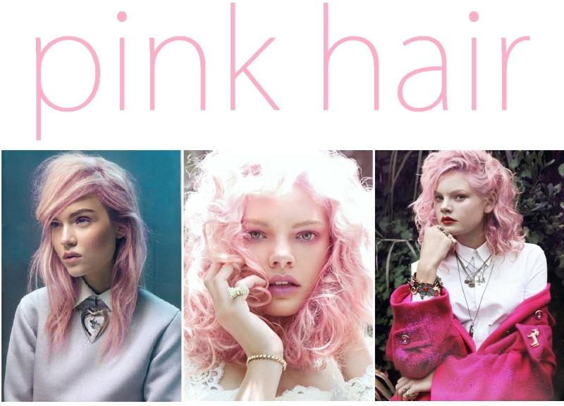pink haiir