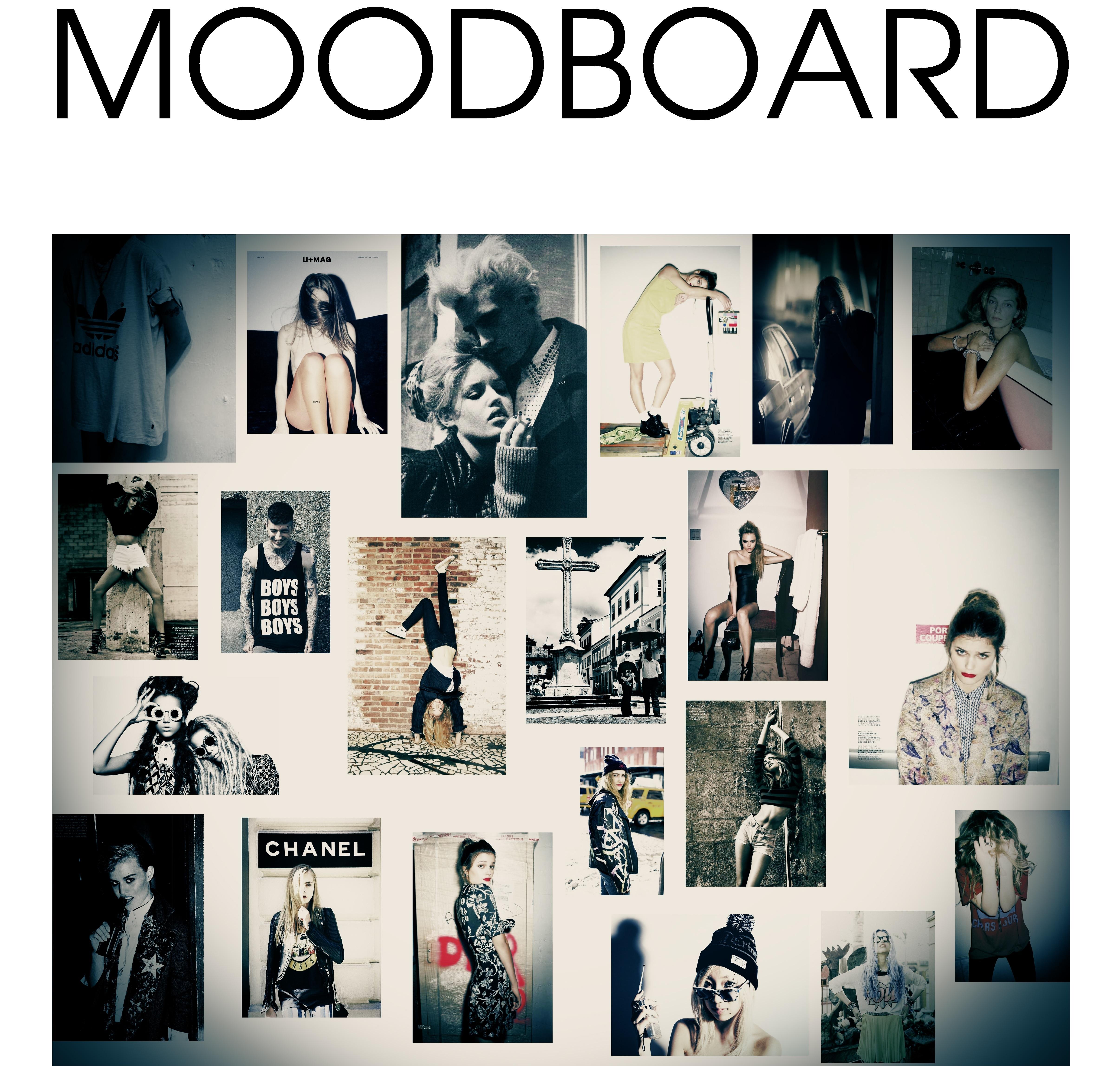 Moodboard The Black Cape